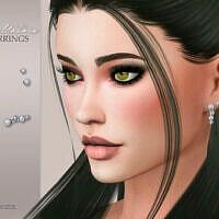 Bellatrix Sims 4 Earrings By Suzue