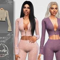 Blouse Sims 4 Eliza By Camuflaje