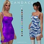 Candace Sims 4 Dress