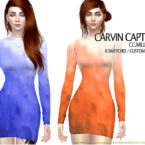 CC Milla Sims 4 Dress