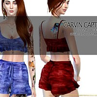 Camy R Pants Set by carvin captoor