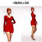 Celine Sims 4 Dress Heels