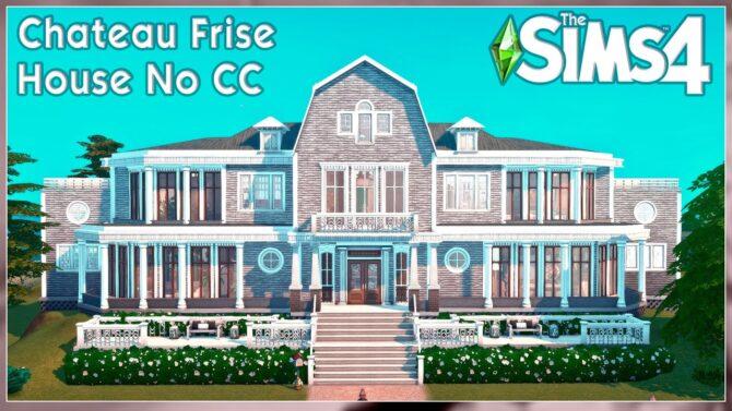 Chateau Frise Sims 4