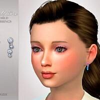 Child Earrings Sims 4 Bellatrix