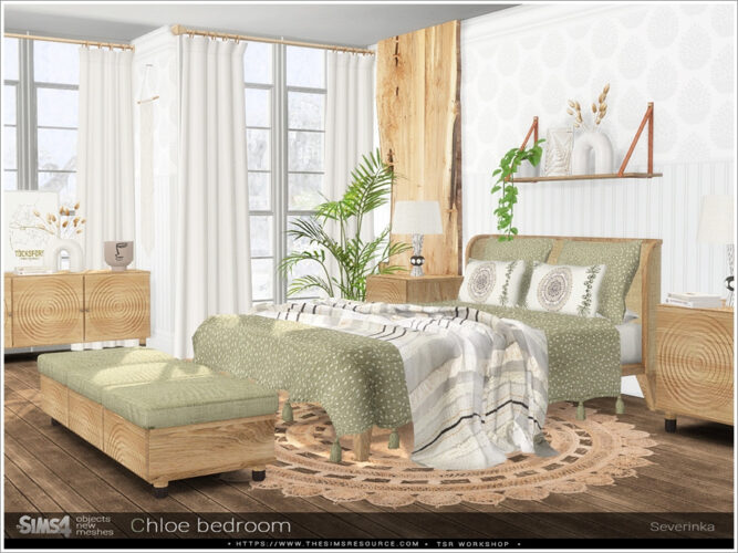 Chloe Sims 4 bedroom by Severinka