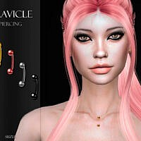 Clavicle Piercing for Sims 4 by Suzue
