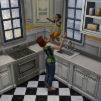 Clean up toddler in the sink Mod The Sims 4
