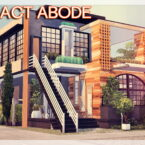 Compact Sims 4 Abode