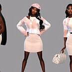Creamy Sims 4 Clothes Collection