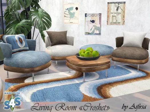 Croshet Living Room