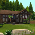Cursed Sims 4 Cottage