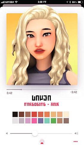 Dayea Sims 4 Hair