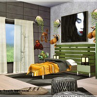 Deluxe Youth Sims 4 bedroom by Danuta720