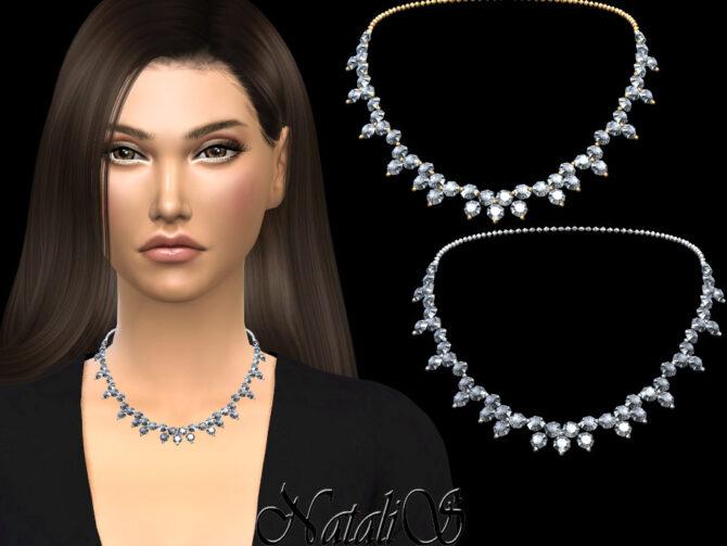 Diamond Sims 4 necklace