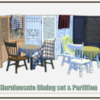 Dining Set Sims 4