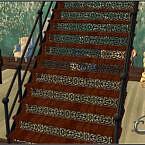 Escalera Iron Stairs Sims 4