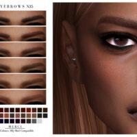 Eyebrows N35 by Merci Sims 4 CC
