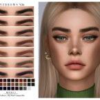 Eyebrows N36 Sims 4 CC