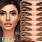 Eyebrows N57 by MagicHand