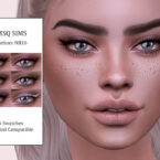 Eyeliner NB16 by MSQ Sims 4