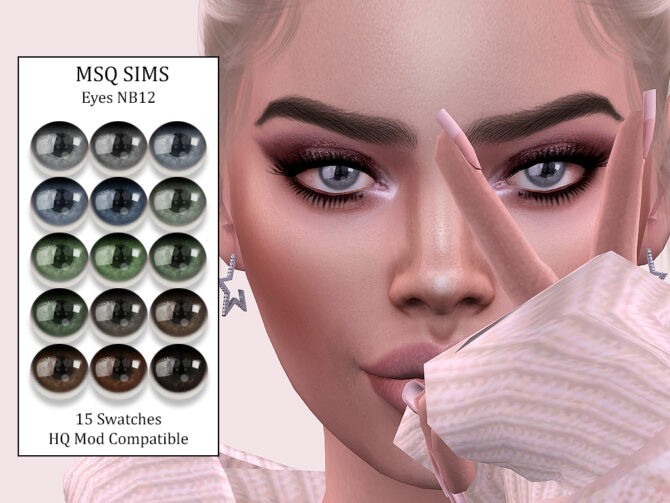 Sims 4 Eyes NB12 at MSQ Sims
