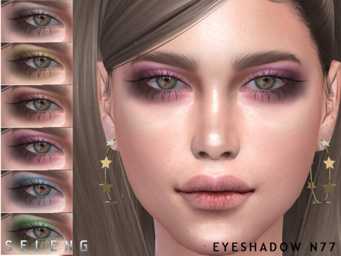 Eyeshadow N77 for Sims 4