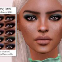 Eyeshadow NB23 MSQ Sims 4