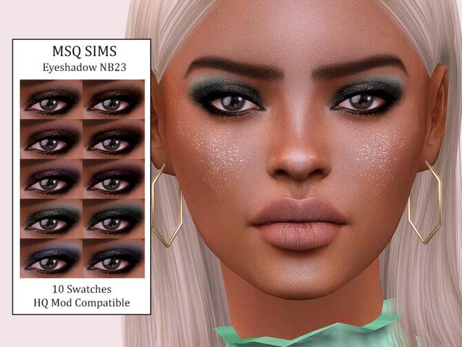 Sims 4 Eyeshadow NB23 at MSQ Sims