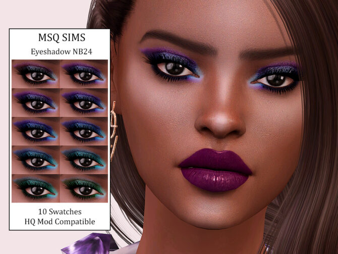 Eyeshadow NB24 by MSQ Sims 4