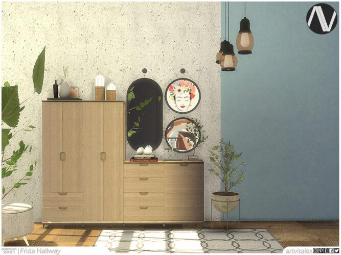Frida Sims 4 Hallway by ArtVitalex