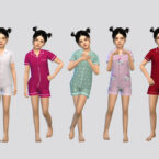 FullBody Sims 4 Sleepwear Girls