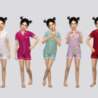FullBody Sims 4 Sleepwear Girls