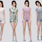 FullBody Sleepwear Women by McLayneSims