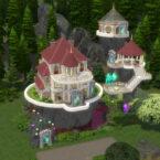 Glimmerbrook Magic School Sims 4