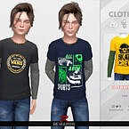 Graphic 2 Sims 4 Shirt For Kids 01