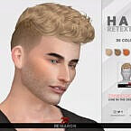 Hair Retexture Sims 4 Bryan By Remaron