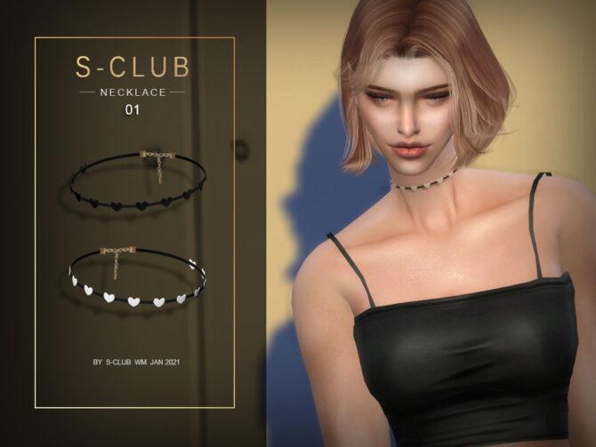 Sims 4 Heart Choker 202101 by S Club WM at TSR