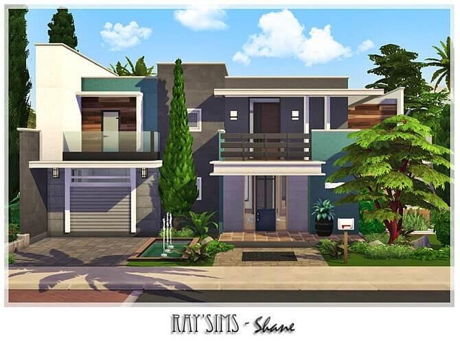 Sims 4 Shane house by Ray Sims at TSR