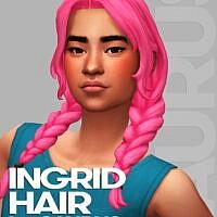 Ingrid Hair by Saurus
