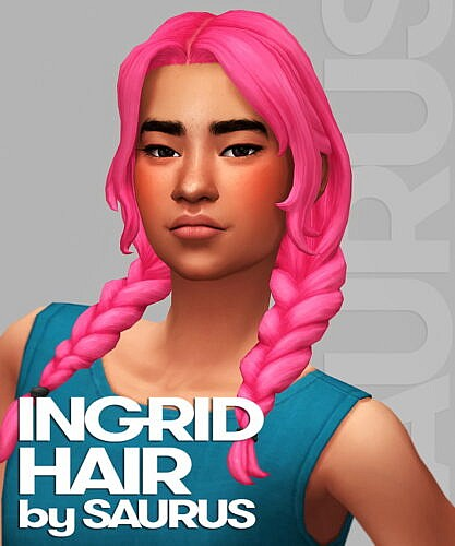 Ingrid Hair by Saurus