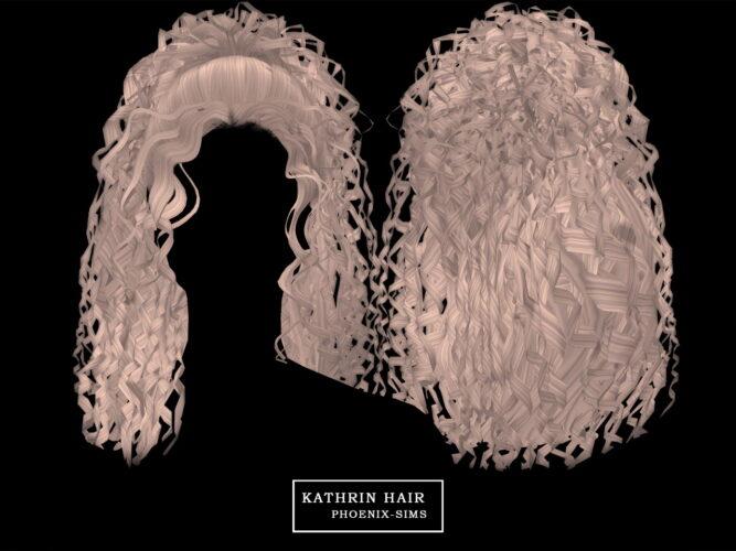 KATHRIN HAIR SIMS 4