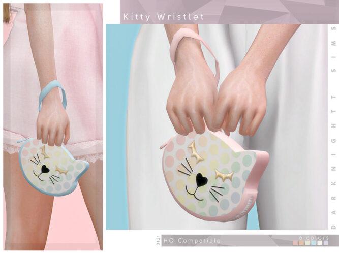 Kitty Wristlet by DarkNighTt for Sims 4