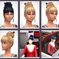 Kiya Female Hair Sims 4