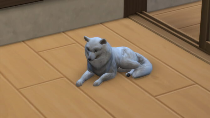 Sims 4 Long Dog Tails by LightningBolt at Mod The Sims