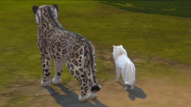 Long Dog Tails Sims 4