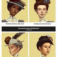 MINI MILLINERY hat hair