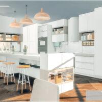 Mango Shades Sims 4 Kitchen