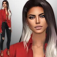 Maritza Ames Sims 4 female by divaka45