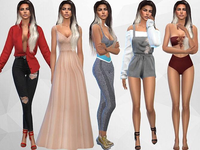 Sims 4 Maritza Ames by divaka45 at TSR