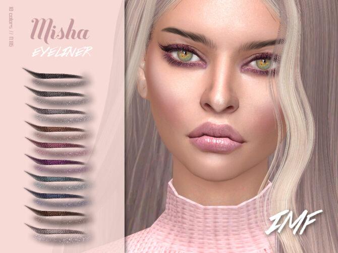 Sims 4 Misha Eyeliner N.116 by IzzieMcFire at TSR